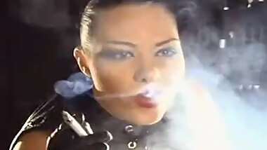 Mistress Mad Leather Gloves Best Smoking JOI Ever!