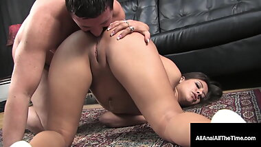 Dirty Talking Tart Jynx Maze Gets Her Tight Butthole Banged!